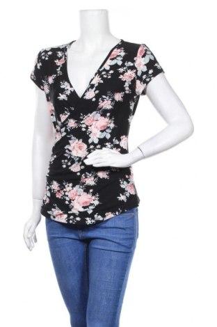 Дамска блуза Derek Heart, Размер M, Цвят Многоцветен, 92% полиестер, 8% еластан, Цена 16,96лв.