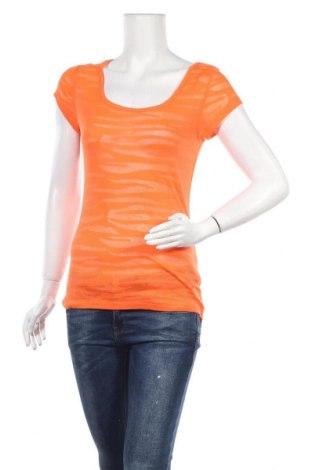 Дамска блуза Derek Heart, Размер L, Цвят Оранжев, 60% памук, 40% полиестер, Цена 11,03лв.
