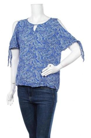 Γυναικεία μπλούζα Diana Ferrari, Μέγεθος L, Χρώμα Μπλέ, Βισκόζη, Τιμή 17,54€