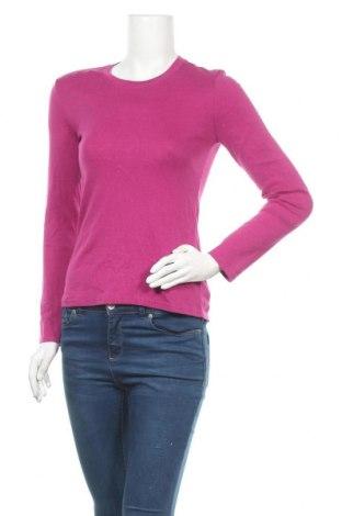 Дамска блуза Eddie Bauer, Размер S, Цвят Розов, 58% памук, 39% модал, 3% еластан, Цена 17,96лв.