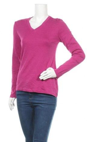 Дамска блуза Eddie Bauer, Размер M, Цвят Розов, 58% памук, 39% модал, 3% еластан, Цена 17,96лв.