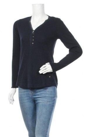 Дамска блуза Eddie Bauer, Размер M, Цвят Син, 59% памук, 39% полиестер, 2% еластан, Цена 13,23лв.