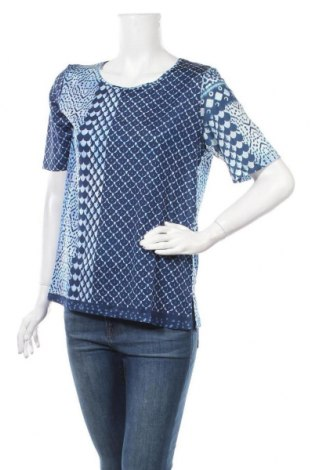 Дамска блуза Elena Miro, Размер S, Цвят Син, 92% вискоза, 8% еластан, Цена 54,02лв.
