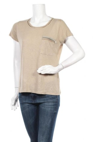 Дамска блуза Elie Tahari, Размер M, Цвят Бежов, 55% лен, 45% вискоза, Цена 29,93лв.