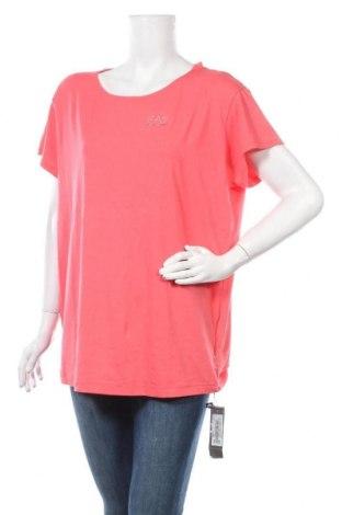 Дамска блуза Emporio Armani, Размер S, Цвят Розов, 48% памук, 47% модал, 5% еластан, Цена 108,12лв.