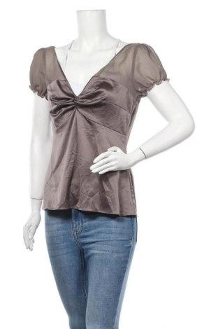 Дамска блуза Esprit, Размер M, Цвят Кафяв, 94% полиестер, 6% еластан, Цена 4,73лв.