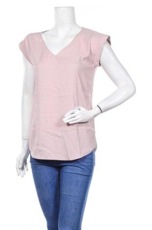Дамска блуза Express, Размер S, Цвят Розов, 96% полиестер, 4% еластан, Цена 8,93лв.