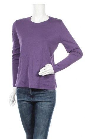 Дамска блуза Fabiani, Размер M, Цвят Лилав, Памук, Цена 5,51лв.