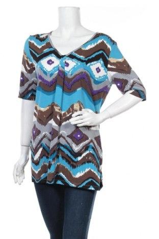 Γυναικεία μπλούζα Fabiani, Μέγεθος L, Χρώμα Πολύχρωμο, 95% βισκόζη, 5% ελαστάνη, Τιμή 7,73€