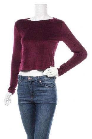 Дамска блуза Fb Sister, Размер XS, Цвят Лилав, Цена 15,96лв.
