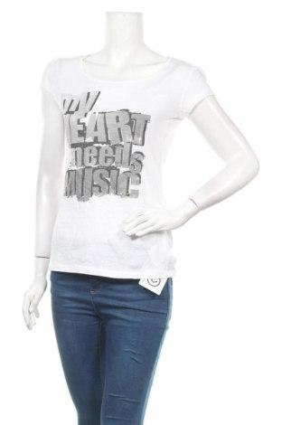 Дамска блуза Fishbone, Размер M, Цвят Бял, Памук, Цена 14,28лв.
