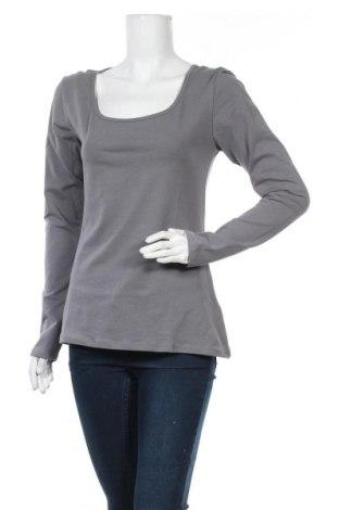 Дамска блуза Fishbone, Размер XL, Цвят Сив, 92% памук, 8% еластан, Цена 18,95лв.