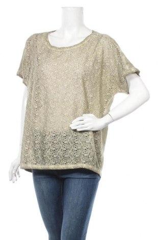 Дамска блуза Fransa, Размер XL, Цвят Зелен, Памук, Цена 28,56лв.