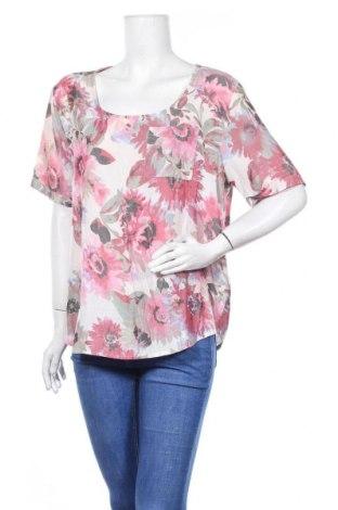 Дамска блуза Fransa, Размер XL, Цвят Многоцветен, 65% полиестер, 35% вискоза, Цена 18,90лв.