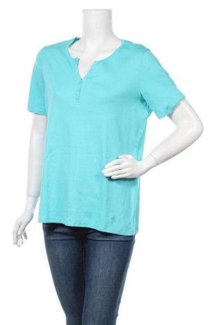 Дамска блуза G.W., Размер L, Цвят Син, Цена 13,44лв.