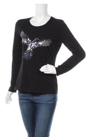 Дамска блуза G.W., Размер M, Цвят Черен, Цена 16,75лв.