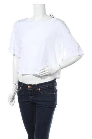 Дамска блуза Gap, Размер M, Цвят Бял, 57% памук, 43% вискоза, Цена 36,75лв.