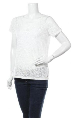 Γυναικεία μπλούζα Garcia, Μέγεθος M, Χρώμα Λευκό, 50% βαμβάκι, 50% πολυεστέρας, Τιμή 6,75€