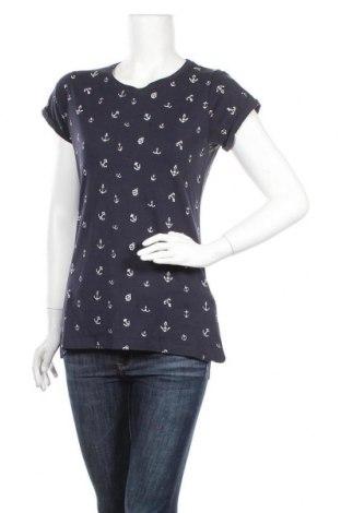 Дамска блуза Gate Woman, Размер L, Цвят Син, 70% памук, 30% вискоза, Цена 17,85лв.