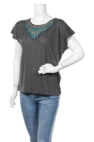 Дамска блуза Grain De Malice, Размер XL, Цвят Сив, 55% полиестер, 45% вискоза, Цена 15,96лв.
