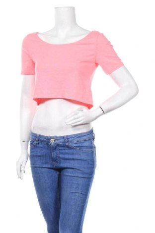 Γυναικεία μπλούζα H&M Divided, Μέγεθος M, Χρώμα Ρόζ , 57% βαμβάκι, 38% πολυεστέρας, 5% ελαστάνη, Τιμή 2,60€
