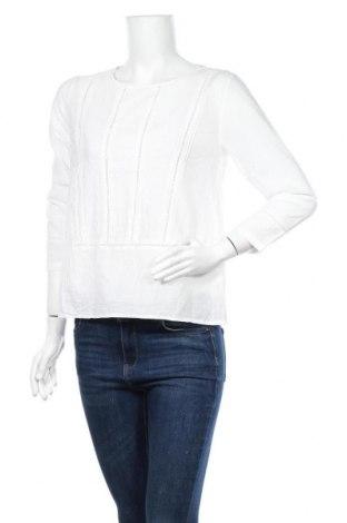 Дамска блуза H&M L.O.G.G., Размер S, Цвят Бял, Памук, Цена 17,85лв.