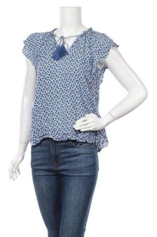 Дамска блуза H&M L.O.G.G., Размер S, Цвят Син, Вискоза, Цена 14,70лв.