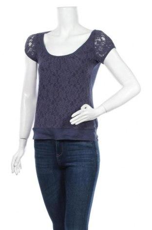 Дамска блуза H&M L.O.G.G., Размер XS, Цвят Син, Памук, Цена 15,12лв.