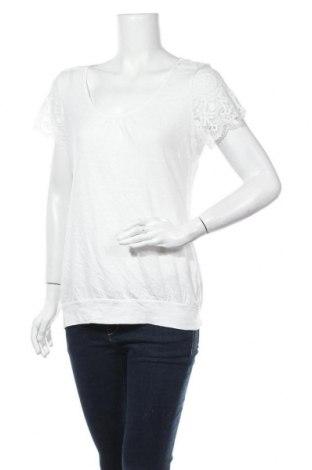 Дамска блуза H&M L.O.G.G., Размер L, Цвят Бял, Памук, полиестер, Цена 15,75лв.