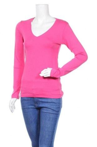 Дамска блуза H&M L.O.G.G., Размер M, Цвят Розов, 97% памук, 3% еластан, Цена 18,90лв.