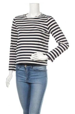 Дамска блуза H&M L.O.G.G., Размер XS, Цвят Син, Памук, Цена 14,18лв.