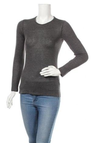 Γυναικεία μπλούζα Hallhuber, Μέγεθος S, Χρώμα Γκρί, Μοντάλ, Τιμή 16,46€