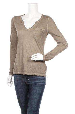 Дамска блуза Hallhuber, Размер S, Цвят Зелен, Памук, Цена 41,90лв.