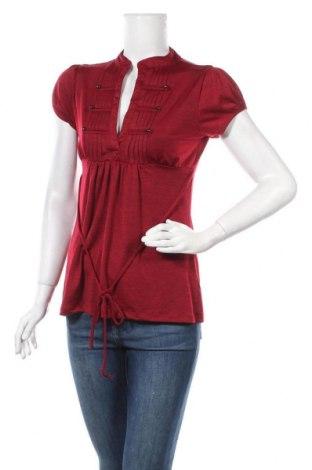 Γυναικεία μπλούζα Heart Soul, Μέγεθος M, Χρώμα Κόκκινο, 95% πολυεστέρας, 5% ελαστάνη, Τιμή 9,87€