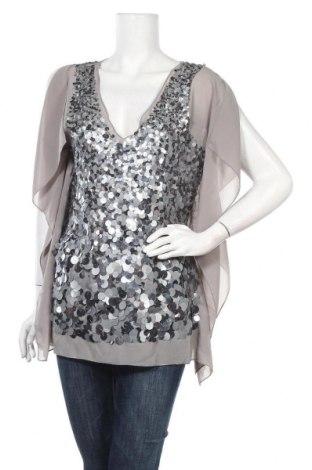 Дамска блуза Heine, Размер M, Цвят Сив, Полиестер, Цена 18,90лв.