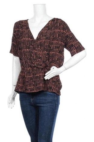 Дамска блуза Hema, Размер M, Цвят Кафяв, Вискоза, Цена 14,18лв.