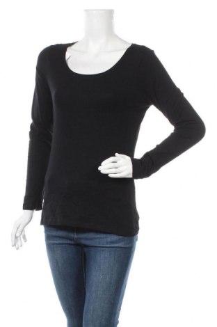 Дамска блуза Hema, Размер M, Цвят Черен, 95% памук, 5% еластан, Цена 12,50лв.