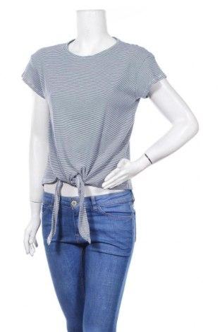 Дамска блуза Hema, Размер L, Цвят Син, 50% памук, 50% полиестер, Цена 11,03лв.