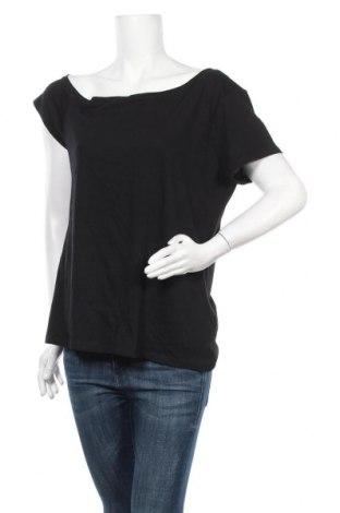 Дамска блуза INC International Concepts, Размер L, Цвят Черен, 60% памук, 40% модал, Цена 58,85лв.