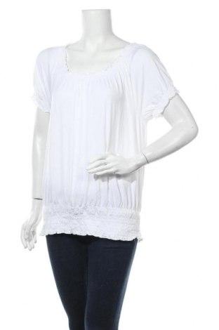 Дамска блуза INC International Concepts, Размер L, Цвят Бял, 95% вискоза, 5% еластан, Цена 25,52лв.