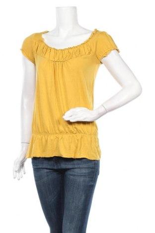 Дамска блуза INC International Concepts, Размер S, Цвят Жълт, 95% вискоза, 5% еластан, Цена 37,80лв.