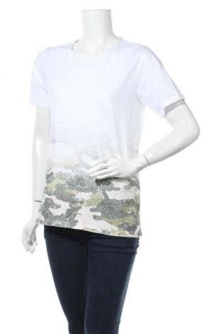 Дамска блуза Imperial, Размер S, Цвят Бял, Памук, Цена 16,07лв.