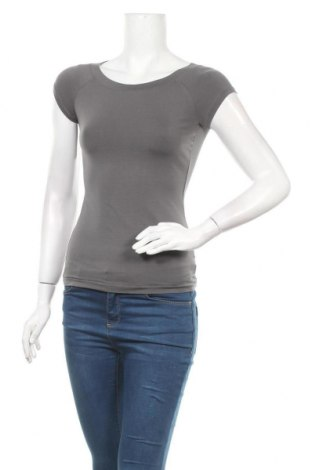 Γυναικεία μπλούζα Jacob, Μέγεθος XS, Χρώμα Γκρί, 95% βαμβάκι, 5% ελαστάνη, Τιμή 5,71€