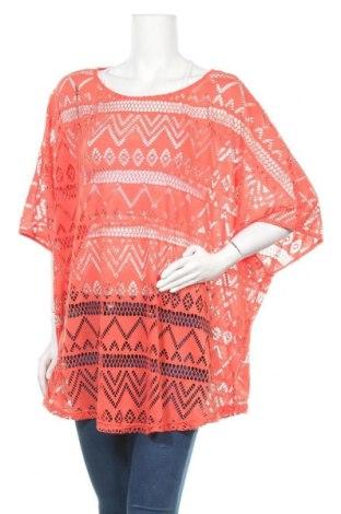 Дамска блуза Janina, Размер 5XL, Цвят Оранжев, 100% полиестер, Цена 16,07лв.