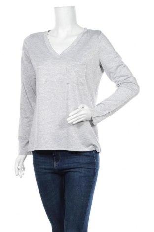 Дамска блуза Janina, Размер M, Цвят Сребрист, 42% метални нишки, 38% полиестер, 17% вискоза, 3% еластан, Цена 15,75лв.