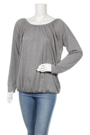 Дамска блуза Janina, Размер L, Цвят Сив, 63% полиестер, 35% вискоза, 2% метални нишки, Цена 18,90лв.