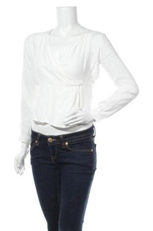 Дамска блуза Jennyfer, Размер S, Цвят Бял, Вискоза, Цена 25,20лв.