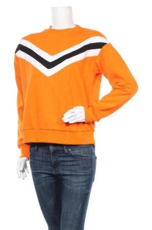 Дамска блуза Jennyfer, Размер L, Цвят Оранжев, 65% полиестер, 35% памук, Цена 25,20лв.