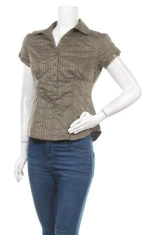Дамска блуза Jessica, Размер S, Цвят Зелен, 62% памук, 34% полиестер, 4% еластан, Цена 6,72лв.