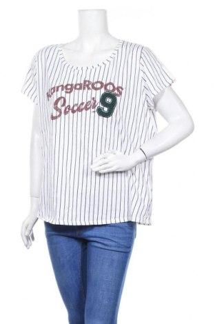 Дамска блуза Kangaroos, Размер XXL, Цвят Син, 100% памук, Цена 13,97лв.
